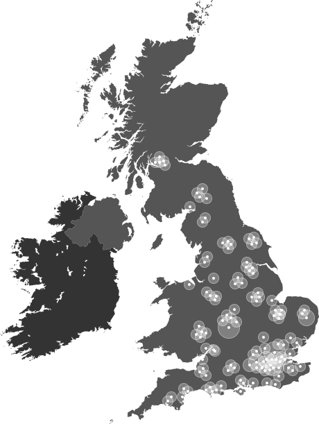Where Regency Security serves within the UK
