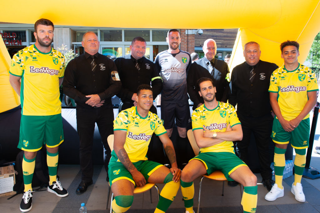 Norwich City Football Club reveals new home kit