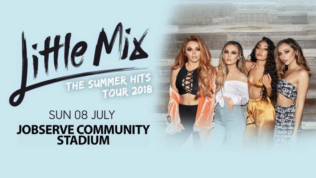Little Mix – the World's biggest girl band The World's biggest girl band came to Essex in July. Regency provided security staff within the hospitality areas for the Little Mix Summer Hits Tour, held at Colchester Football Club.