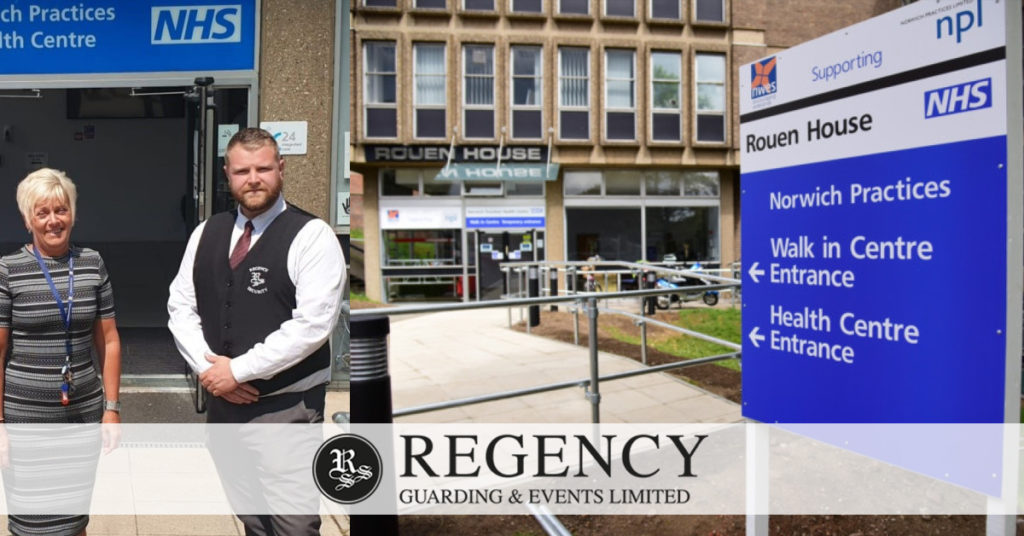 Regency Guarding and Events Provides Security for NHS Walk-in Centre