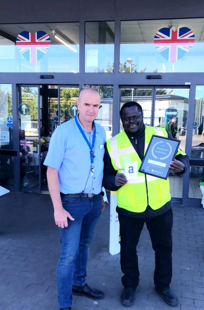 Regency Presents Certificate Of Excellence