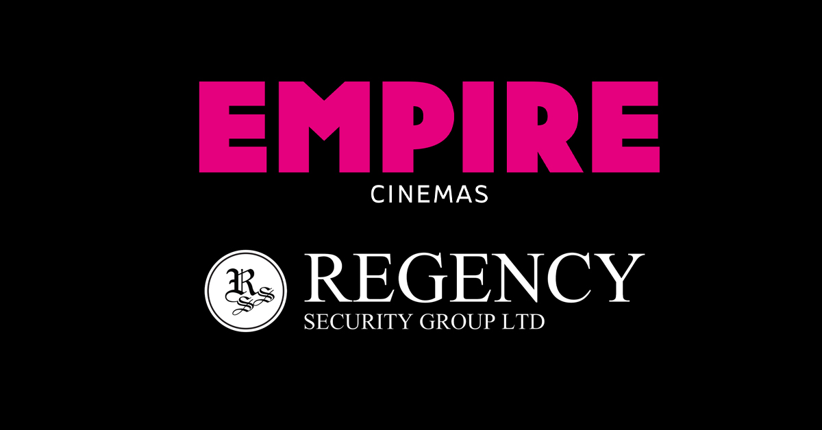 Regency Security becomes approved supplier with Empire Cinemas